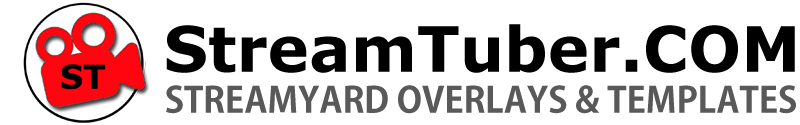 streamtuber streamyard overlays logo